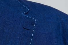 Denim Cotton Wedding Jacket — De Oost Bespoke Tailoring