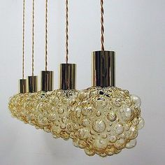 Periods/Styles, Antiques Page 89 Lamp Light, Mid Century Lighting, Bubble Lamps, Lamp, Light, Pendant Lamp, Bubble Glass, Cool Lighting, Pendant Light