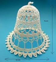 Znalezione obrazy dla zapytania háčkované angel Crochet Circles, Crochet Doily Patterns, Thread Crochet, Crochet Doilies, Knit Crochet, Crochet Hats, Crochet Christmas Ornaments, Christmas Bells, Christmas Crafts