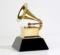 Grammy Award! The gold-plated trophies, each depicting a gilded gramophone, are made and assembled by hand by Billings Artworks in Ridgway, Colorado