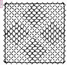 Le carton n° 9 est composé d'un fond filoche sur un fond torchon            Si vous réalisez un ouvrage avec les cartons proposés par Domini... Bobbin Lace Patterns, Lace Heart, Point Lace, Lace Jewelry, Needle Lace, Band, Lace Detail, Crochet, Stencil