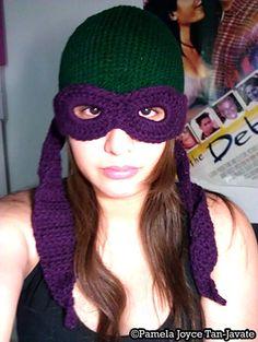 I want a Leonardo one. Teenage Mutant Ninja Turtles Convertible Beanie Knit by charmed, $35.00