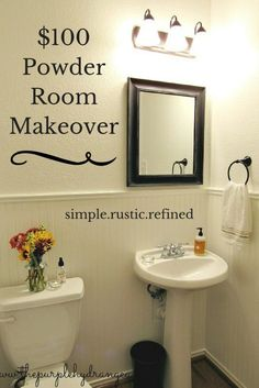 Gallery For Photographers Powder Room Makeover Under