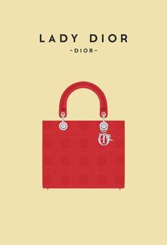 Dior's Lady Dior was created in 1995 and was renamed after Lady Diana when the Princess of Wales fell in love with the bag and ordered it in every style. The bag became an immediate success and one of the most recognizable fashion staples of the 1990's.