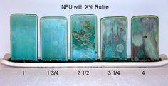 NFU Crystalline Glaze