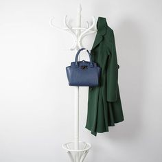 Ditch the winter blacks and opt for navy and deep jewel tones. #coat #bag #jewel #green #navy #retro #vintageinspired #pretty #style #fashion #adorable #weheartit #reviewaustralia