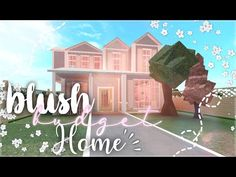 - blush family budget home || 25k || roblox - bloxburg || floria - - YouTube Tiny House Layout, House Layouts, Family House Plans, Home And Family, Small Mansion, Disney Aesthetic, Family Budget, Budgeting, Roblox Codes