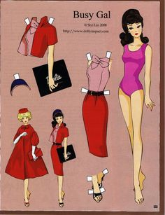 Barbie Paper Doll - Katerine Coss - Picasa 웹앨범                                                                                                                                                                                 More