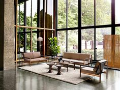 Living and Lounge - Herman Miller Collection - like this @ www.homescapes-sd.com #staging #homescapes