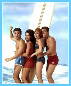 "The carefree Beach Party days — with Frankie Avalon, Annette Funicello and Deborah Walley.………For more classic pictures of the 60's, 70's and 80's please visit and ""LIKE"" my Facebook page at https://www.facebook.com/pages/Roberts-World/143408802354196"