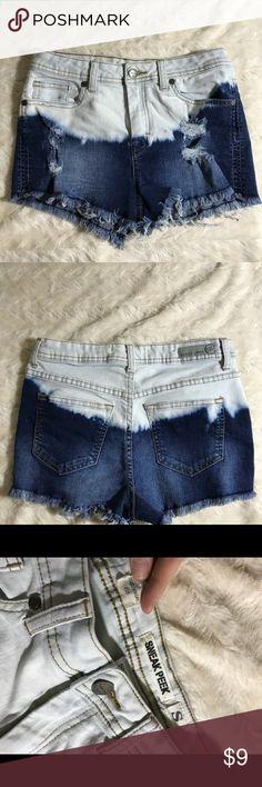 High waist jean shorts *High waist *Good amount of stretch *A little cheeky Shorts Jean Shorts