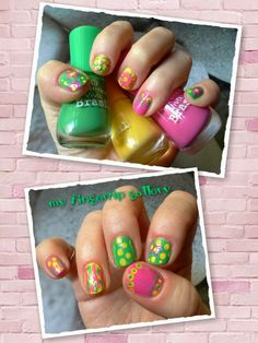 """Fingertip My Gallery: [Review] Three paints from the """"Viva Brazil"""" LE / Three polishes from the LE """"Viva Brazil"""""""