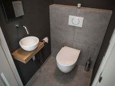 Bathroom Ideas Guests Toilet - Home Decorating Ideas - Bathroom .- Badezimmer Ideen Gäste Wc – Home Decorating Ideas – Badezimmer – Garten – Möbe… Bathroom Ideas Guests Toilet – Home Decorating Ideas – Bathroom – Garden – Furniture Models - Guest Toilet, Downstairs Toilet, Small Toilet Room, Modern Sink, Modern Bathroom, Modern Toilet, Small Bathrooms, Design Wc, Villa Design
