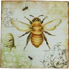 Bee Magnet from TouchofEurope.net