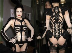 Dita in Jean-Paul Gaultier-In love with this on Dita!!