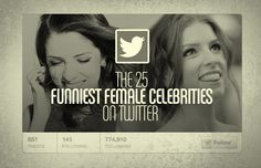 The 25 Funniest Female Celebrities on Twitter