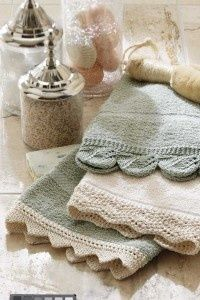TLC Home Free Lace Hand Towel Knitting Pattern - www.weight-loss-r... The #1 weight loss product review site on the web, providing top quality products, tips, hints and more!