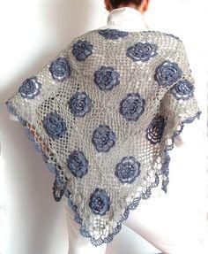 TEjidos - Knitted - crochet shawl
