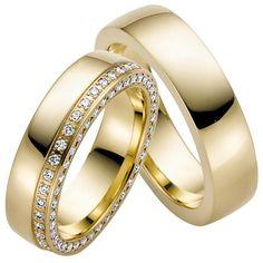 Trauringe Heras Light - ein Luxus Trauringpaar der Extraklasse. Diamonds are a girls best friend - dieses Motto steht Pate für diese exklusiven und geschmackvollen Ringe. Trauringe-Goldschmiede zeigt hier, dass auch Luxus pur geht bei Online Trauringen