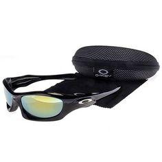 14.99 Cheap Oakley Monster Dog Sunglasses Yellow Blue Iridium Black Frames  Us Outlet Deal www.racal.org f03a6786b3
