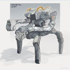 OopsBot (medical unit), Kirill Udodov on ArtStation at https://www.artstation.com/artwork/n1EeX