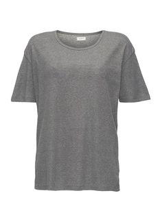 ADPT. T-Shirt Geripptes grau
