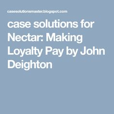 C how to program 9th edition early objects version 9th edition case solutions for nectar making loyalty pay by john deighton fandeluxe Images
