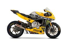 2015 R1 with iconic yellow with black speed block design