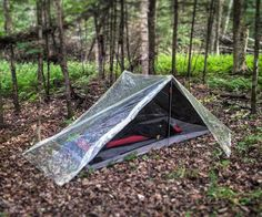 When you go camping, you've chosen to be in nature. So, why are tents always made of opaque materials that separate you from it? My tarp tent offers you a 360° view of shooting stars or thunderstorms from the safety of an ultralight, 3-season, 2 person shelter. You'll also be the first one to know if that sound in the middle of the night is really a bear or maybe just a bunny.This design was initially conceived to be used with Six Moon Design's Haven Net Tent (used in the photo above) and...