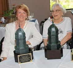 Harper Lee attends award ceremony for Fannie Flagg.  These are  two of Alabama's greatest people.