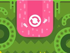 Panic Run Game: art, game design, illustration Cool Animated Gifs, Cool Animations, Ios News, News Games, Video Games, Moving Pictures, Game Design, Web Design, Motion Design