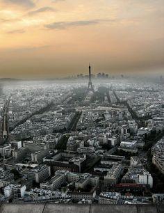 París from Montparnasse Tower | France (by Jesús Sánchez Ibáñez)