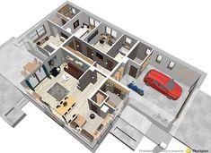 Bianka - zdjęcie 5 Cottage Plan, House Plans, Sweet Home, Photo Wall, How To Plan, Frame, Home Decor, Home Plans, Home