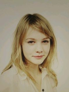Carey Mulligan. shy and sweet, so good in Never Let Me Go, Drive, An Education, The Great Gatsby