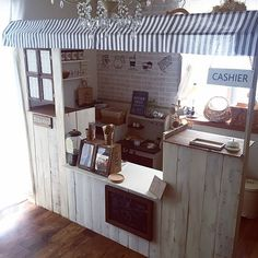 50 best playroom ideas for small and large spaces 41 Cafe Design, House Design, Kids Cafe, Home Daycare, Toy Rooms, Kids Decor, Home Decor, Cafe Interior, Play Houses