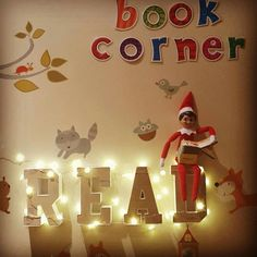 Elf On The Shelf, Shelves, Holiday Decor, Home Decor, Shelving, Decoration Home, Room Decor, Shelf, Interior Design