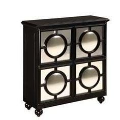 HOLLYWOOD REGENCY GLAM STYLE DECOR FURNITURE MIRROR MIRRORED CABINET ...