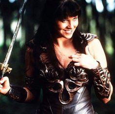 Xena Warrior Princess. Lucy Lawless.