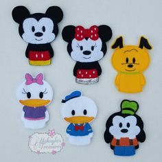 Disney Finger Puppets! Perfect for the trip there! https://www.etsy.com/listing/254526018