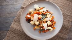 Ricotta Dumplings with Pumpkin and Crispy Sage recipe - Everyday Gourmet with Justine Schofield