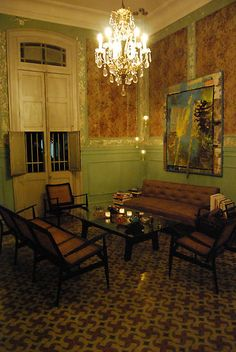 Havana, Cuba, Interior by Timothy State - Modern Cuban Architecture, Interior Architecture, Interior And Exterior, Havana Cuba, Interior Styling, Interior Decorating, Interior Design, Cuban Decor, Best Flooring