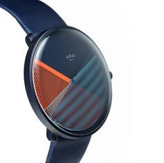 CMF we like / Watch / Blue / Orange 7 Stripe Pattern / at ara 4