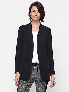 EILEEN FISHER: Fall Jackets - long blazer