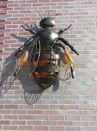 Bee lamp at Crystal Bridges Museum Hotel, Bentonville, AR
