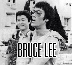Bruce and unicorn at Shaw brothers