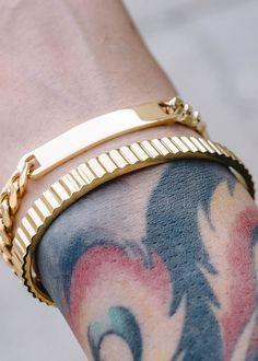 Chubster loves accessories - Plus Size Men fashion - Mode homme grande taille - Accessoires pour homme - - - - - - - - - - - - - - Bracelets Design, Mens Gold Bracelets, Ankle Bracelets, Jewelry Bracelets, Ladies Bracelet, Bracelet Men, Leather Bracelets, Men's Jewelry, Diamond Jewelry
