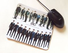 EXO ALBUM PICTORIAL OFFICIAL GOODS EXODUS Mouse Pad - (New)