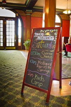 Daily Resort Activities at the Crescent Hotel-Eureka Springs, AR
