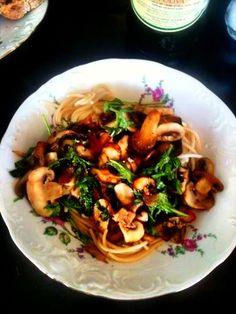 Truffel mushroom pasta!