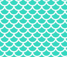 mermaid - ocean fabric by gingerme on Spoonflower - custom fabric